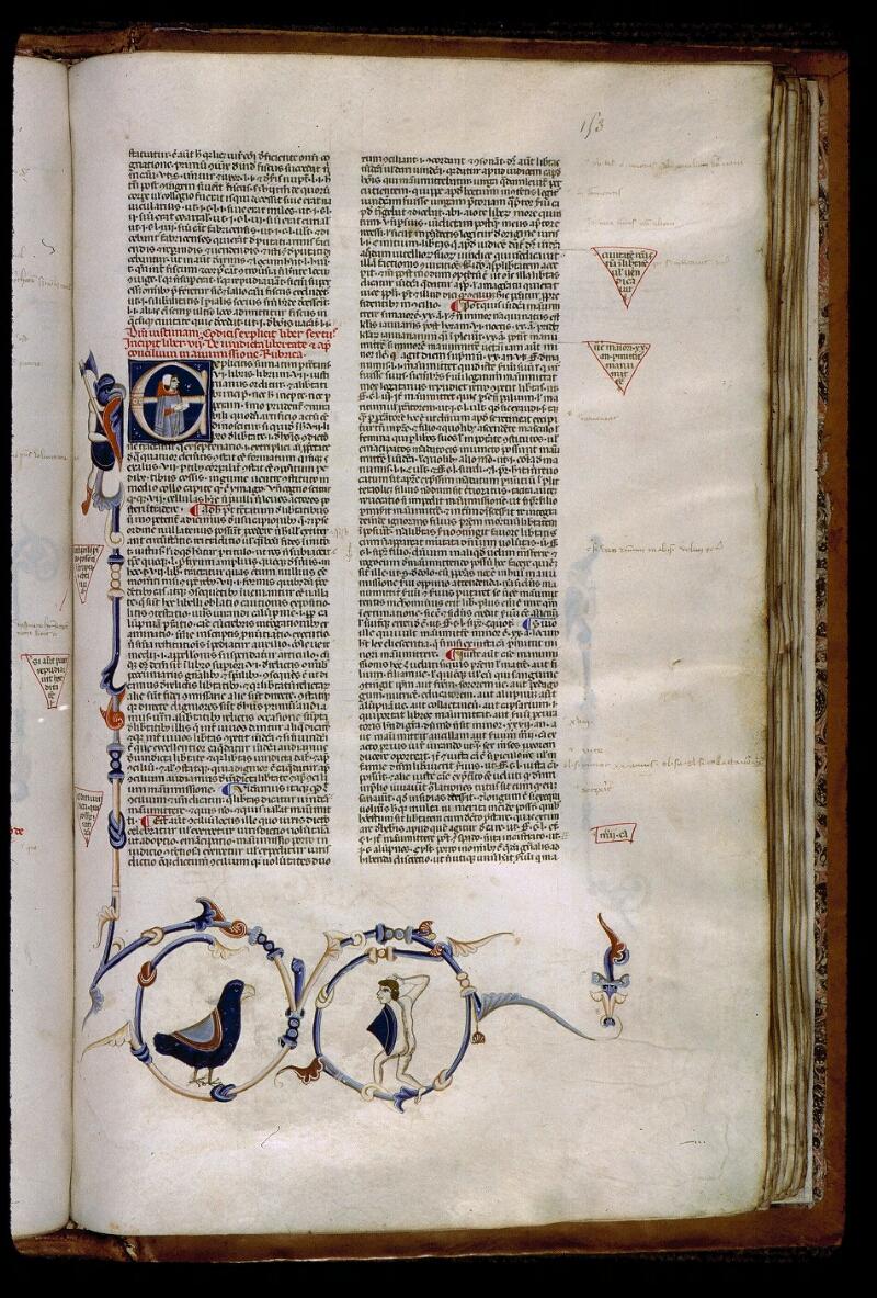 Angers, Bibl. mun., ms. 0338, f. 153 - vue 1