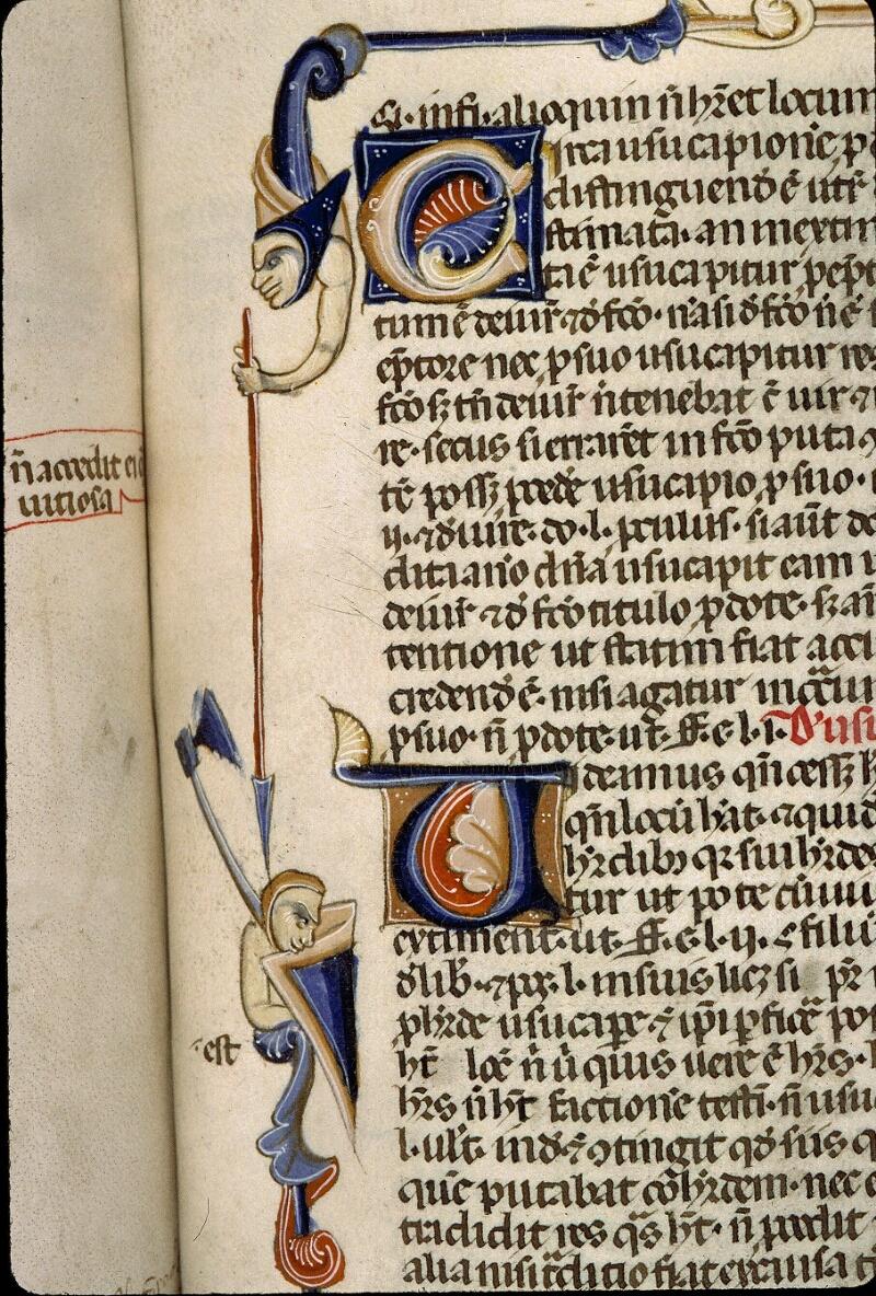 Angers, Bibl. mun., ms. 0338, f. 160 - vue 2