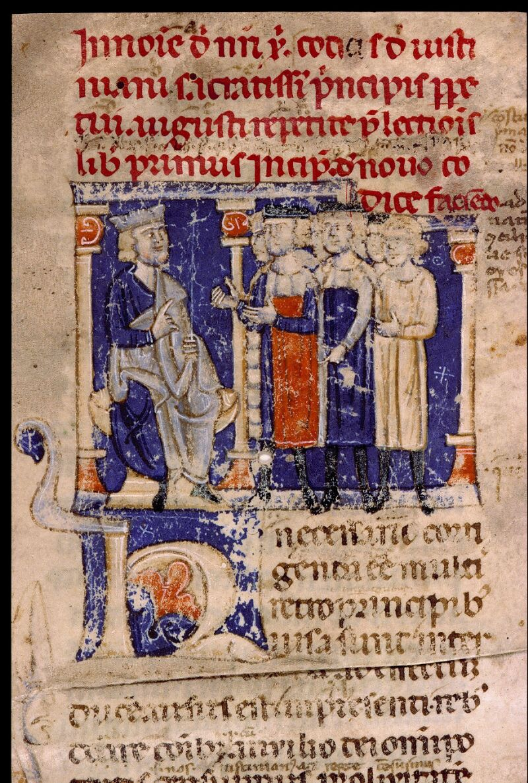 Angers, Bibl. mun., ms. 0339, f. 001 - vue 3