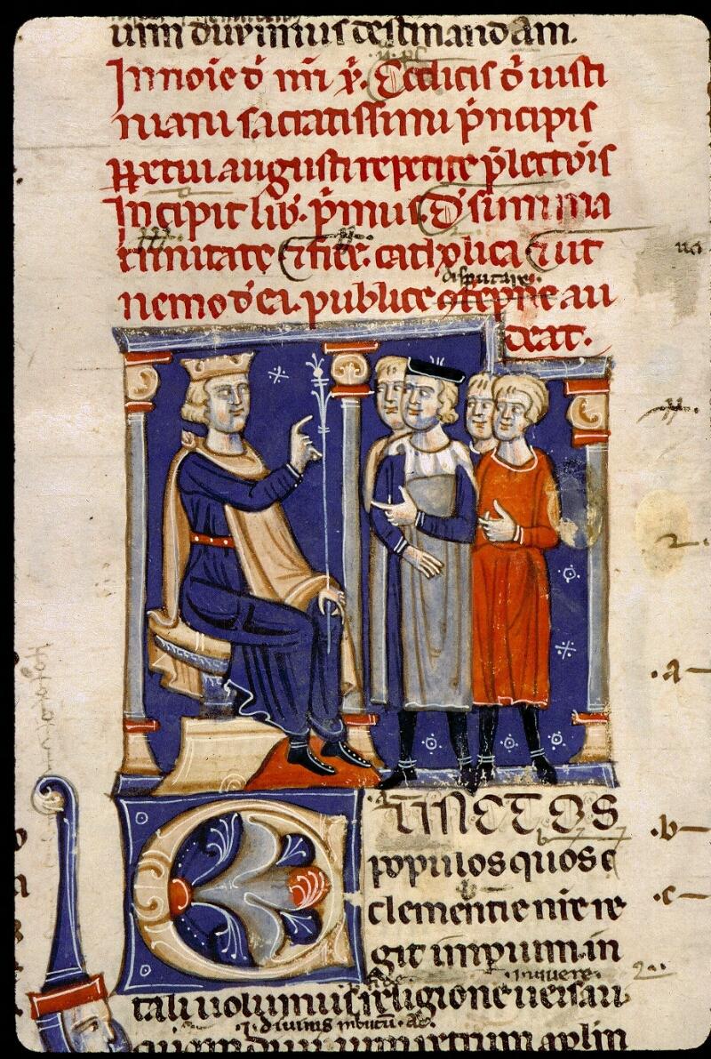 Angers, Bibl. mun., ms. 0339, f. 003 - vue 2