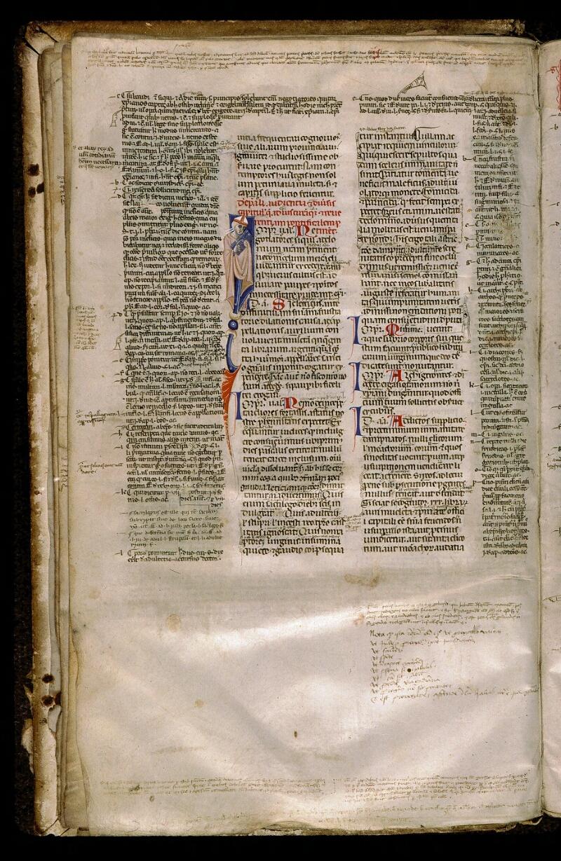 Angers, Bibl. mun., ms. 0339, f. 016v - vue 1