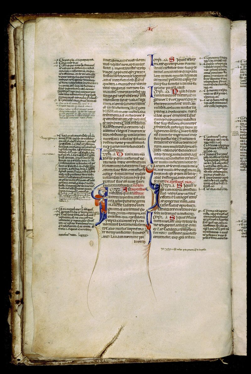 Angers, Bibl. mun., ms. 0339, f. 021v - vue 1