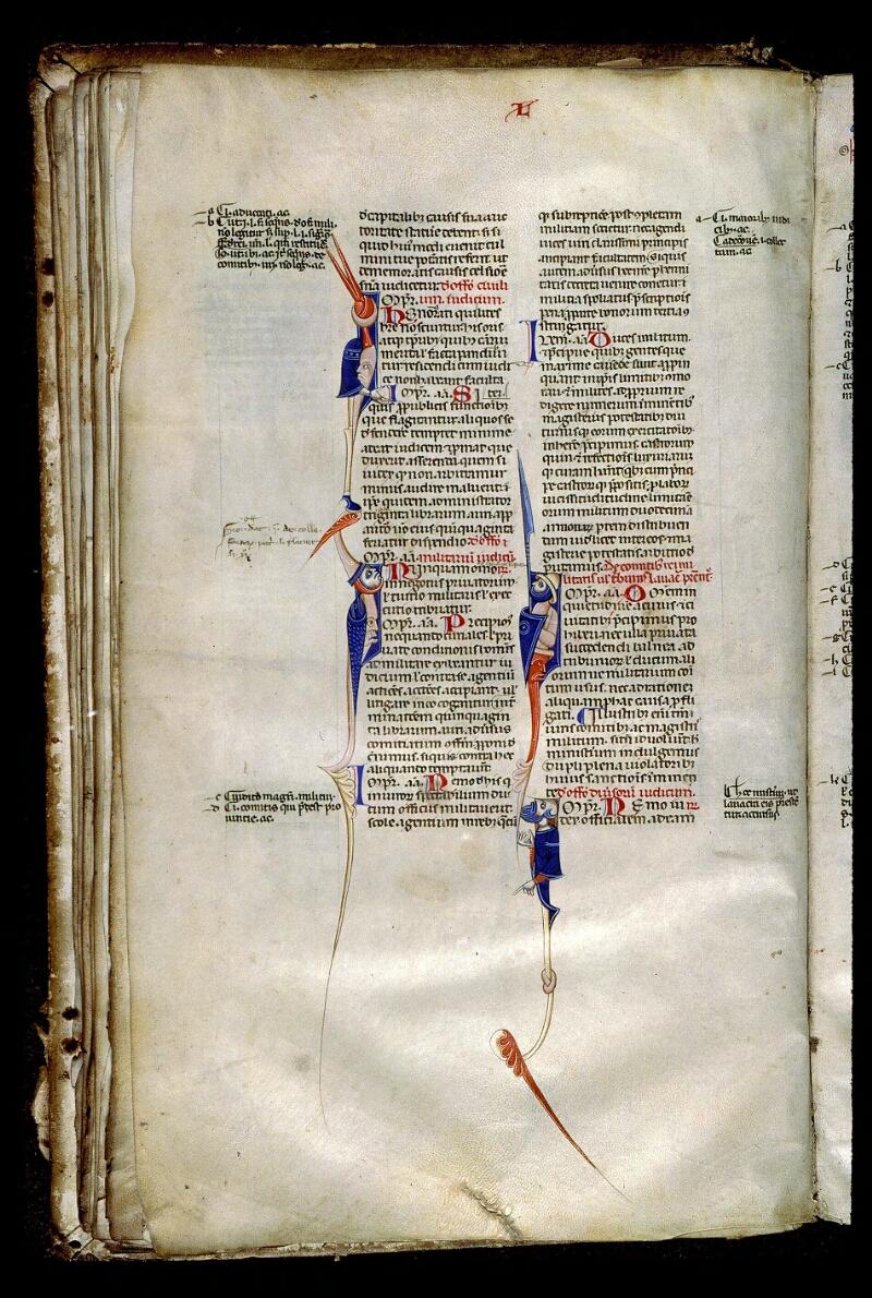 Angers, Bibl. mun., ms. 0339, f. 041v - vue 1