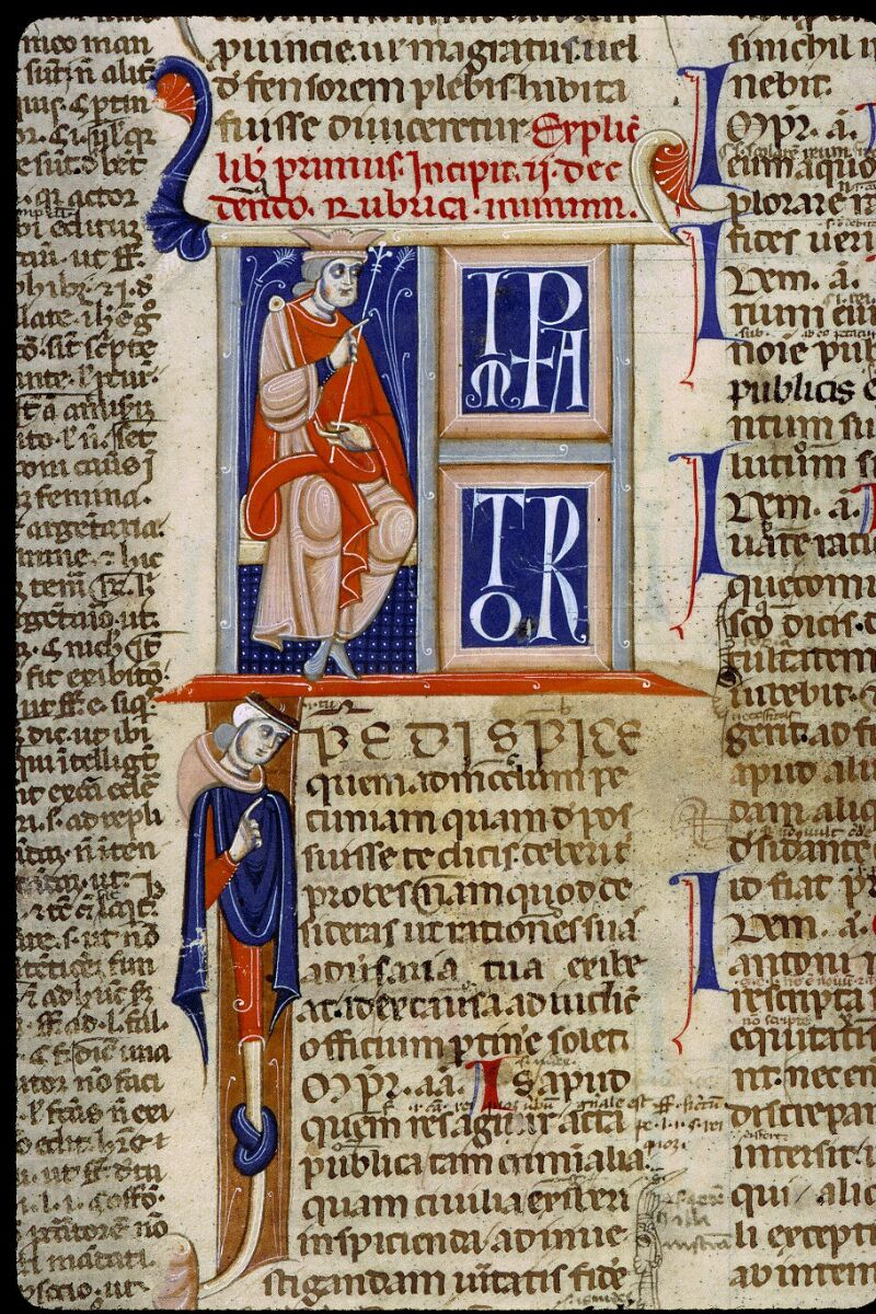 Angers, Bibl. mun., ms. 0339, f. 046 - vue 2