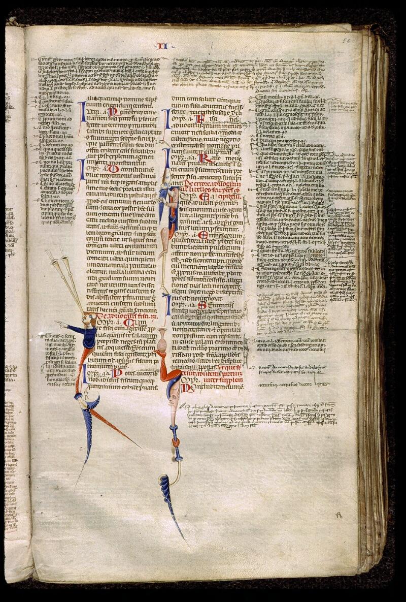 Angers, Bibl. mun., ms. 0339, f. 056 - vue 1
