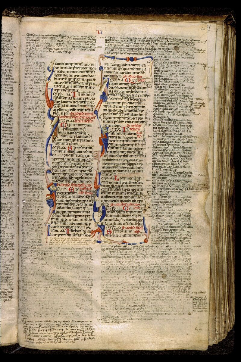 Angers, Bibl. mun., ms. 0339, f. 064 - vue 1