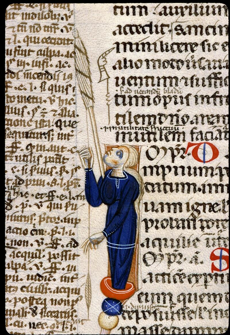 Angers, Bibl. mun., ms. 0339, f. 091v - vue 2