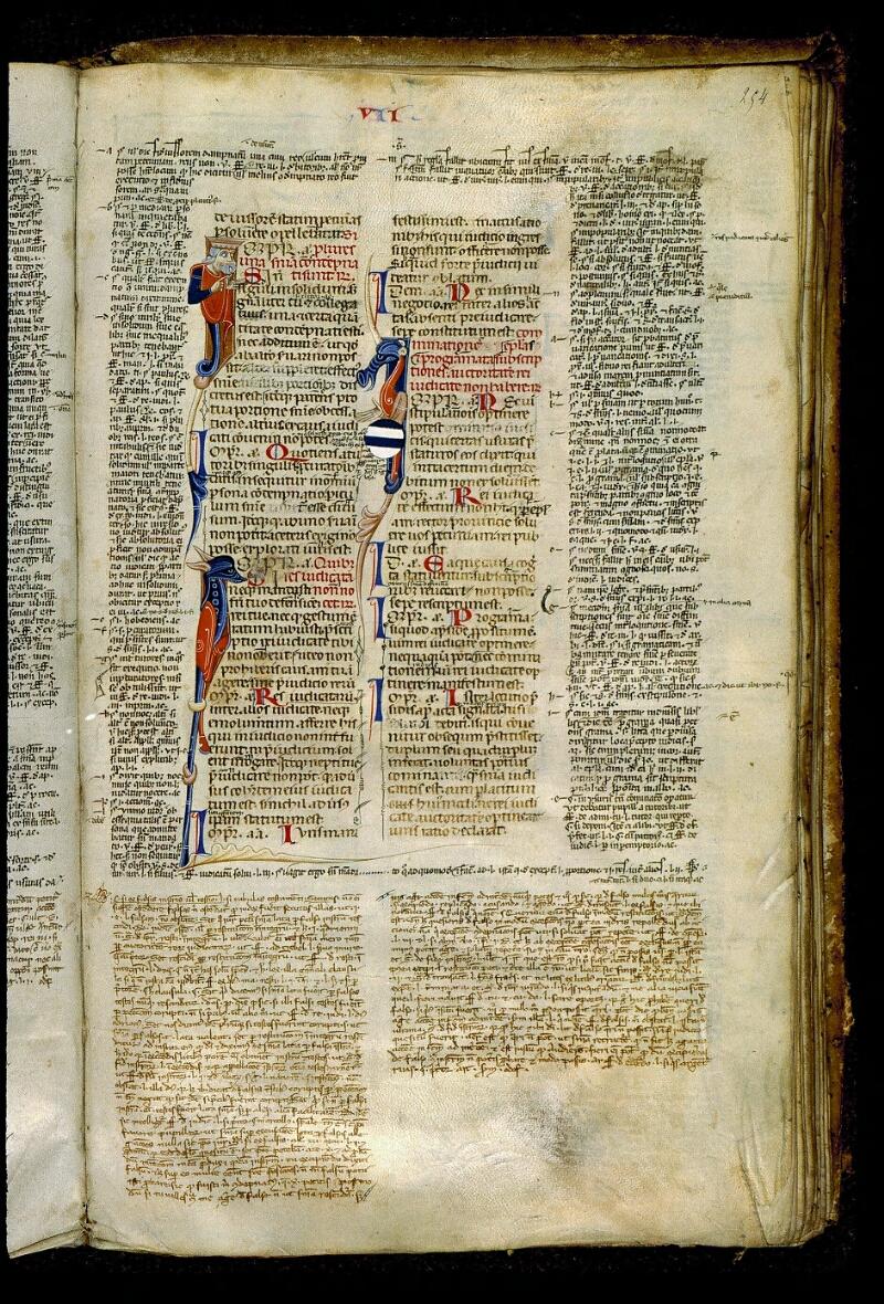 Angers, Bibl. mun., ms. 0339, f. 254 - vue 1