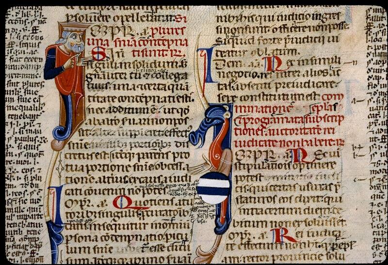 Angers, Bibl. mun., ms. 0339, f. 254 - vue 2