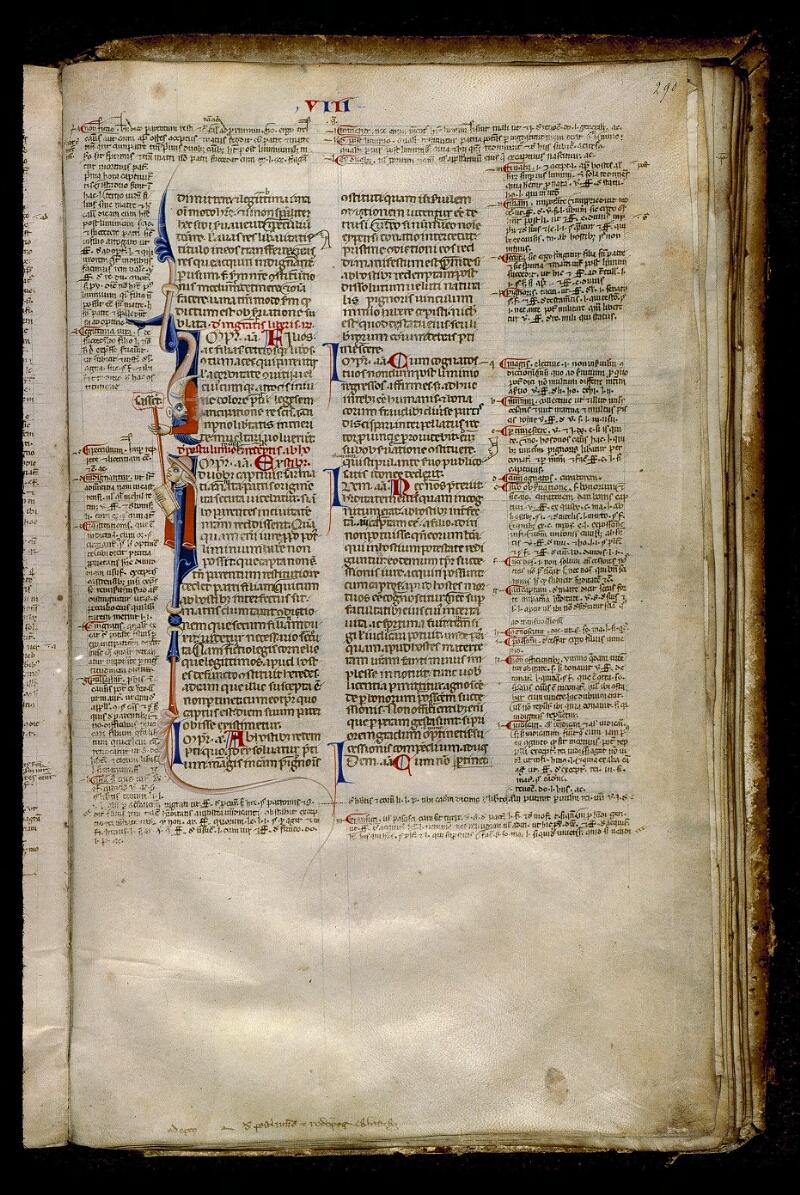 Angers, Bibl. mun., ms. 0339, f. 290 - vue 1