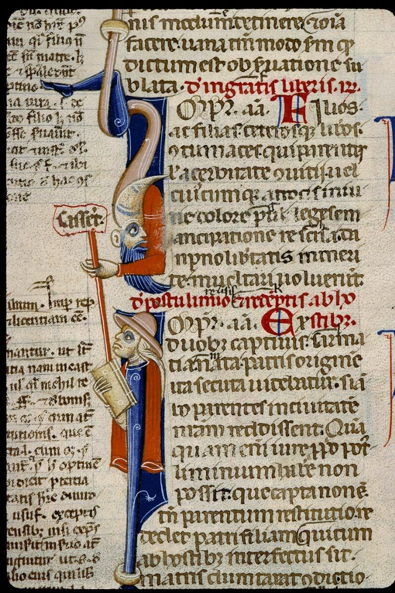 Angers, Bibl. mun., ms. 0339, f. 290 - vue 2