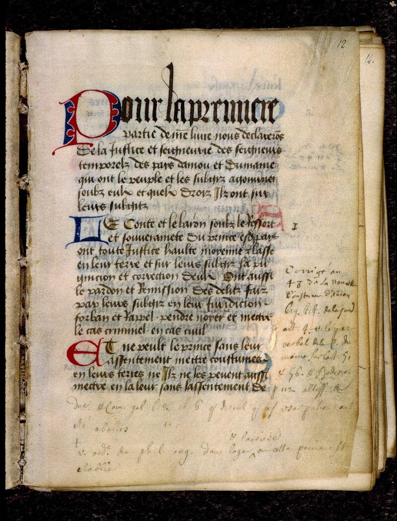 Angers, Bibl. mun., ms. 0342, f. 012 - vue 2
