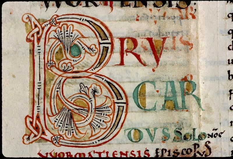Angers, Bibl. mun., ms. 0368, f. 001v - vue 4