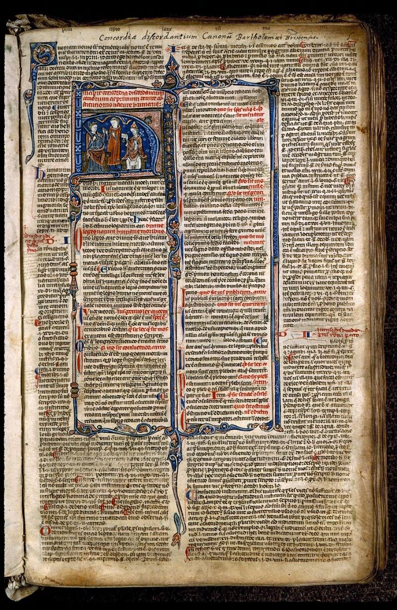 Angers, Bibl. mun., ms. 0371, f. 005 - vue 1
