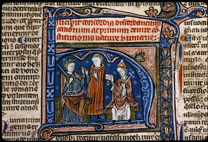 Angers, Bibl. mun., ms. 0371, f. 005 - vue 3