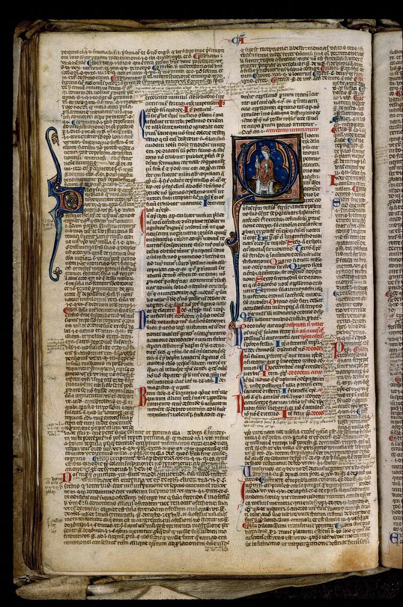 Angers, Bibl. mun., ms. 0371, f. 090v - vue 1