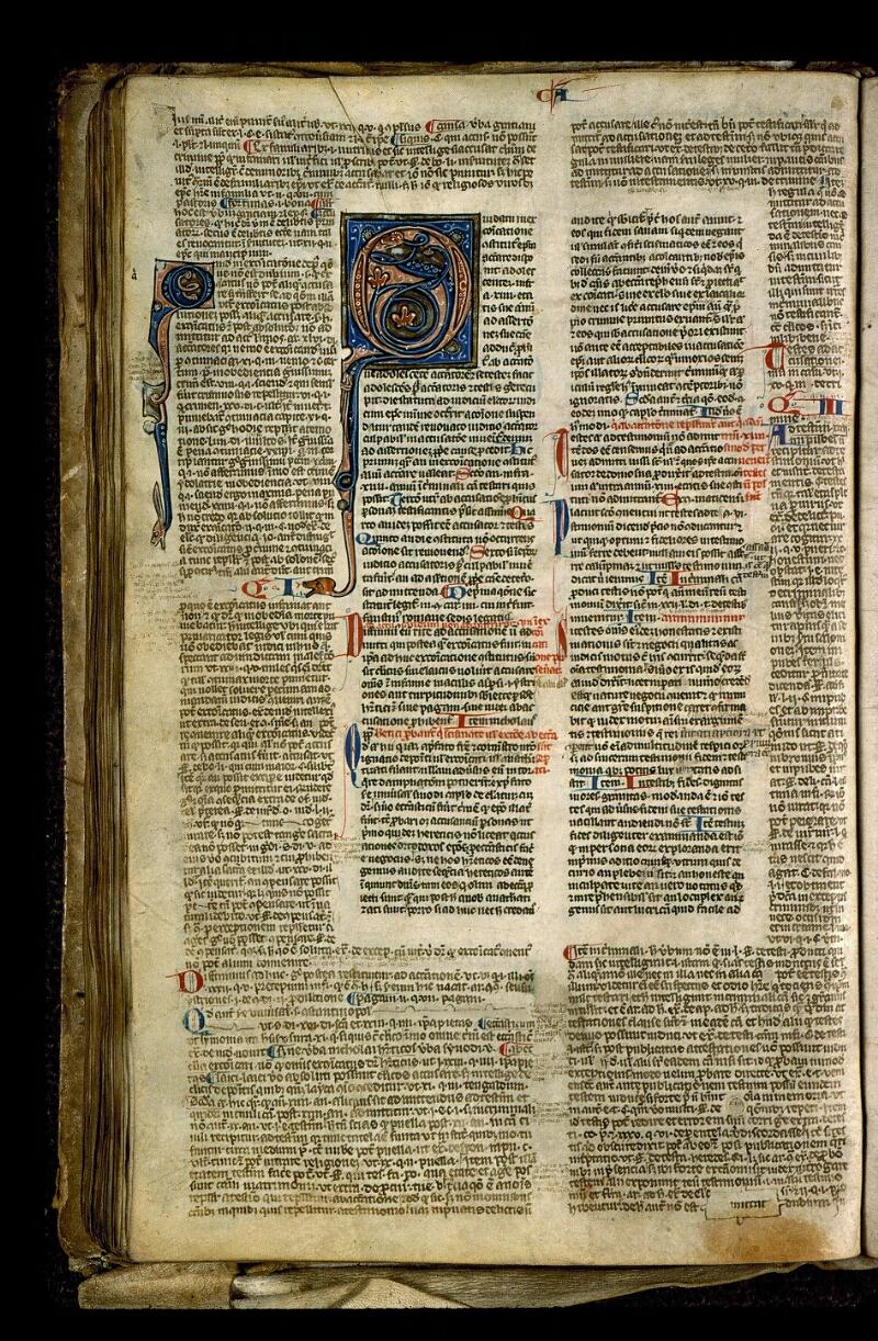Angers, Bibl. mun., ms. 0371, f. 111v - vue 1