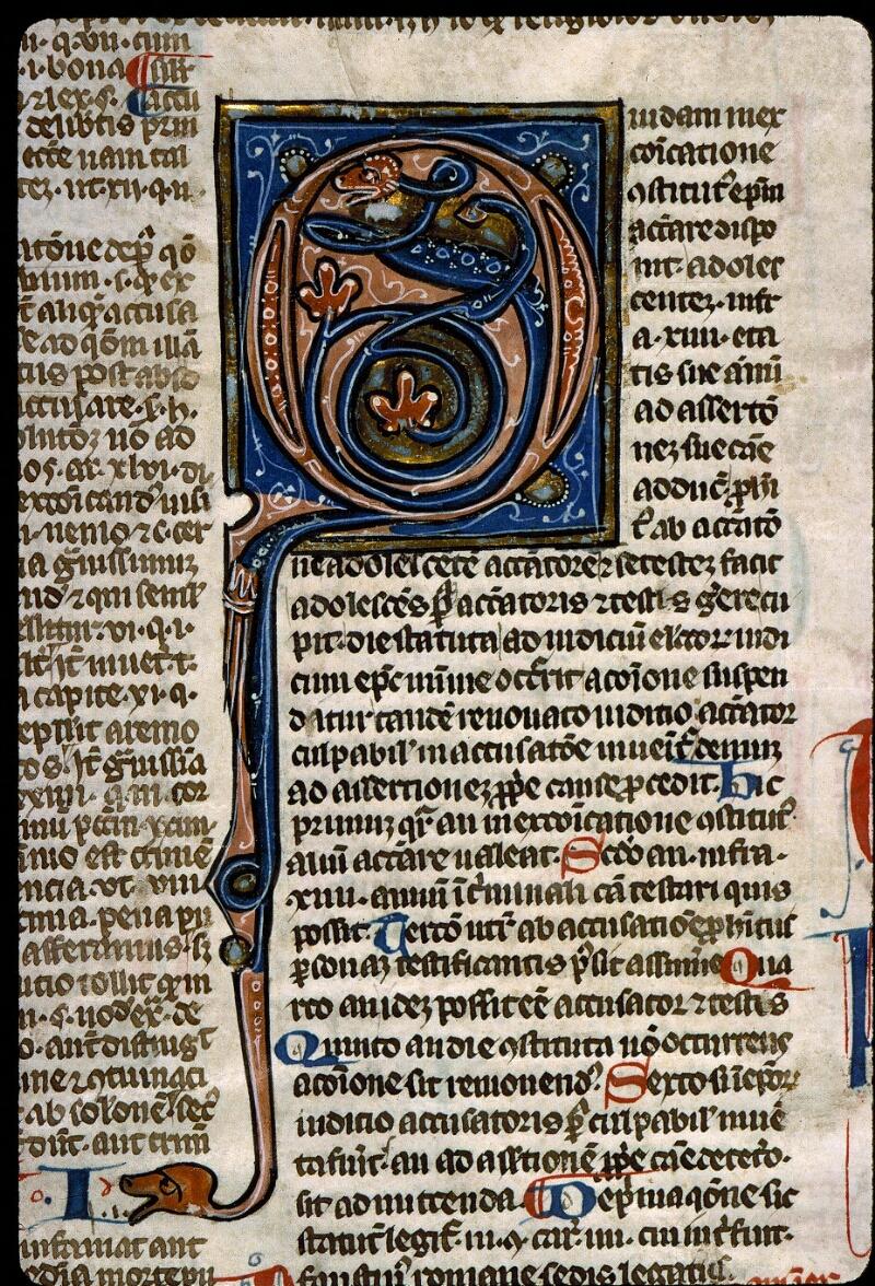 Angers, Bibl. mun., ms. 0371, f. 111v - vue 2
