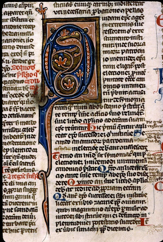 Angers, Bibl. mun., ms. 0371, f. 122v - vue 2
