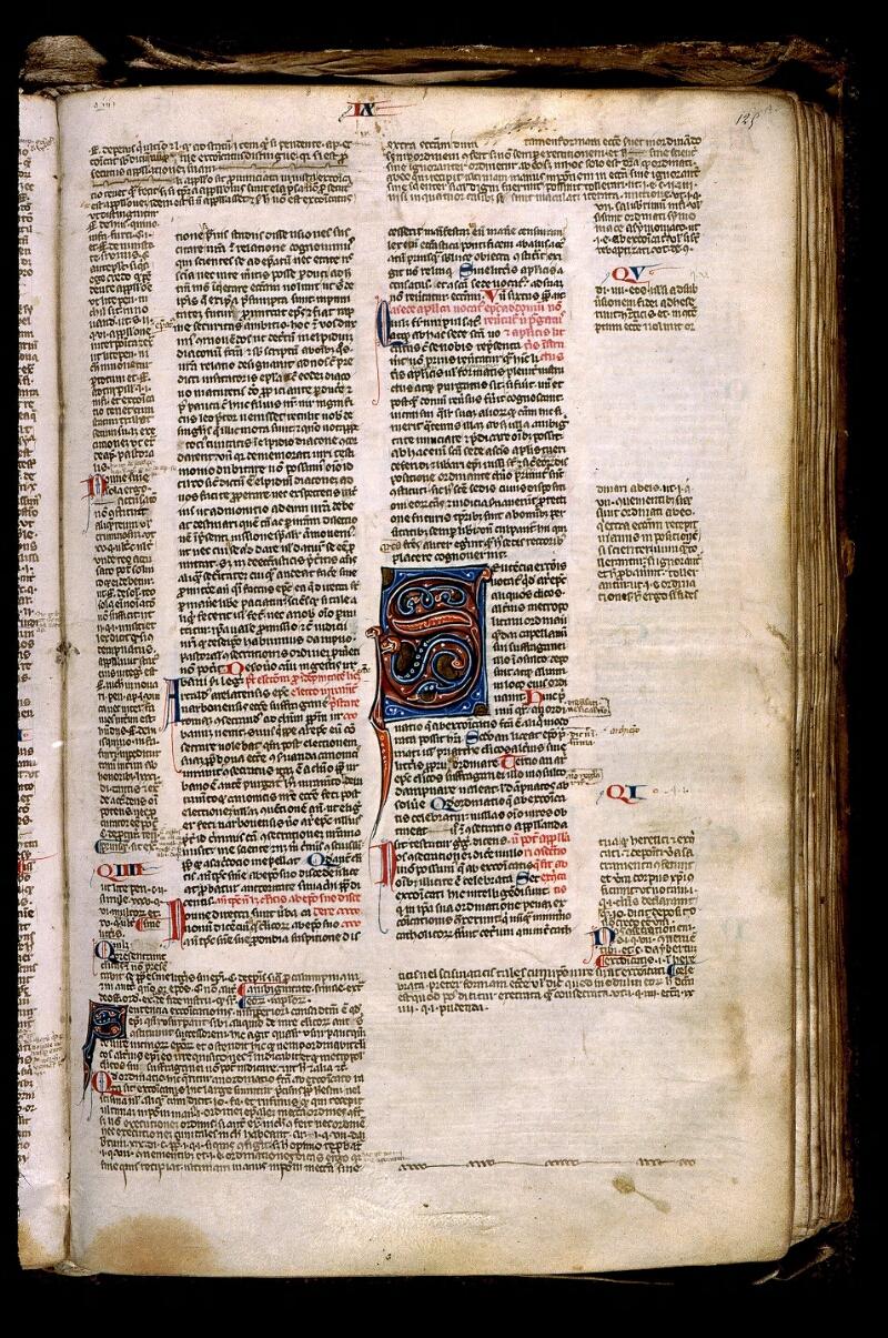 Angers, Bibl. mun., ms. 0371, f. 125 - vue 1