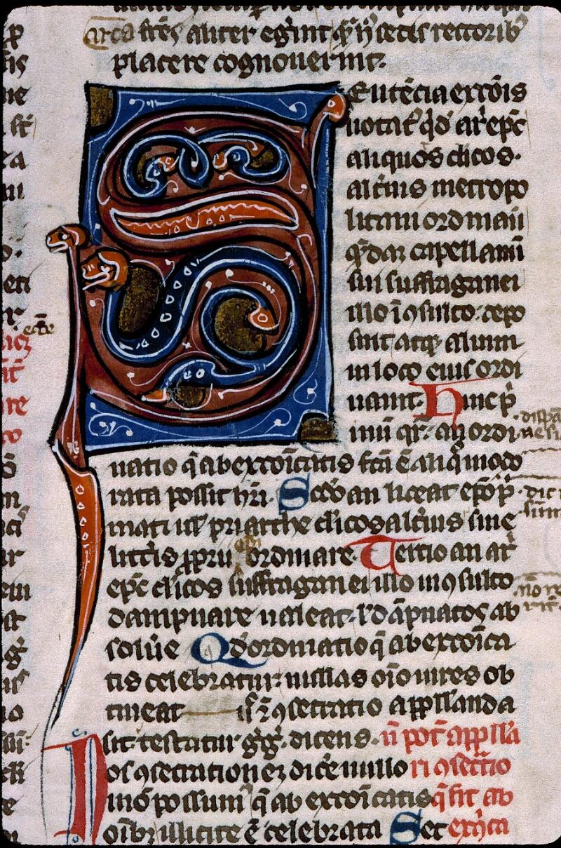 Angers, Bibl. mun., ms. 0371, f. 125 - vue 2
