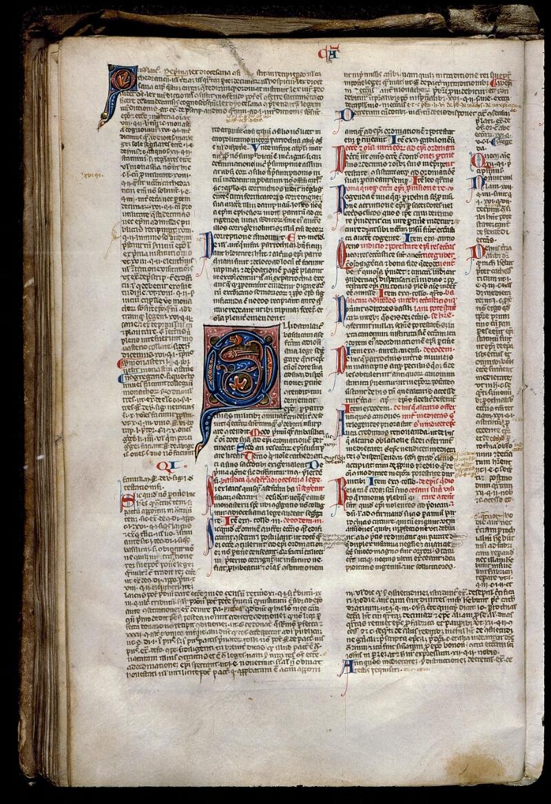 Angers, Bibl. mun., ms. 0371, f. 127v - vue 1