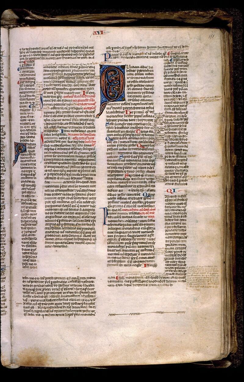 Angers, Bibl. mun., ms. 0371, f. 158 - vue 1