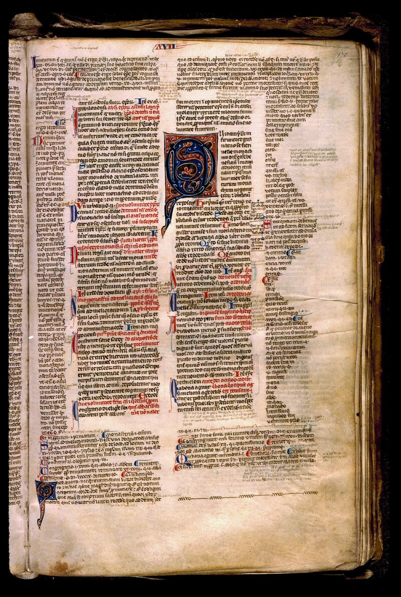 Angers, Bibl. mun., ms. 0371, f. 170 - vue 1