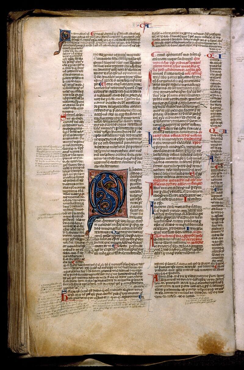 Angers, Bibl. mun., ms. 0371, f. 173v - vue 1