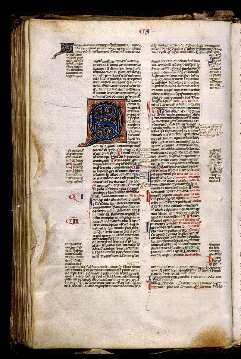 Angers, Bibl. mun., ms. 0371, f. 221v - vue 1