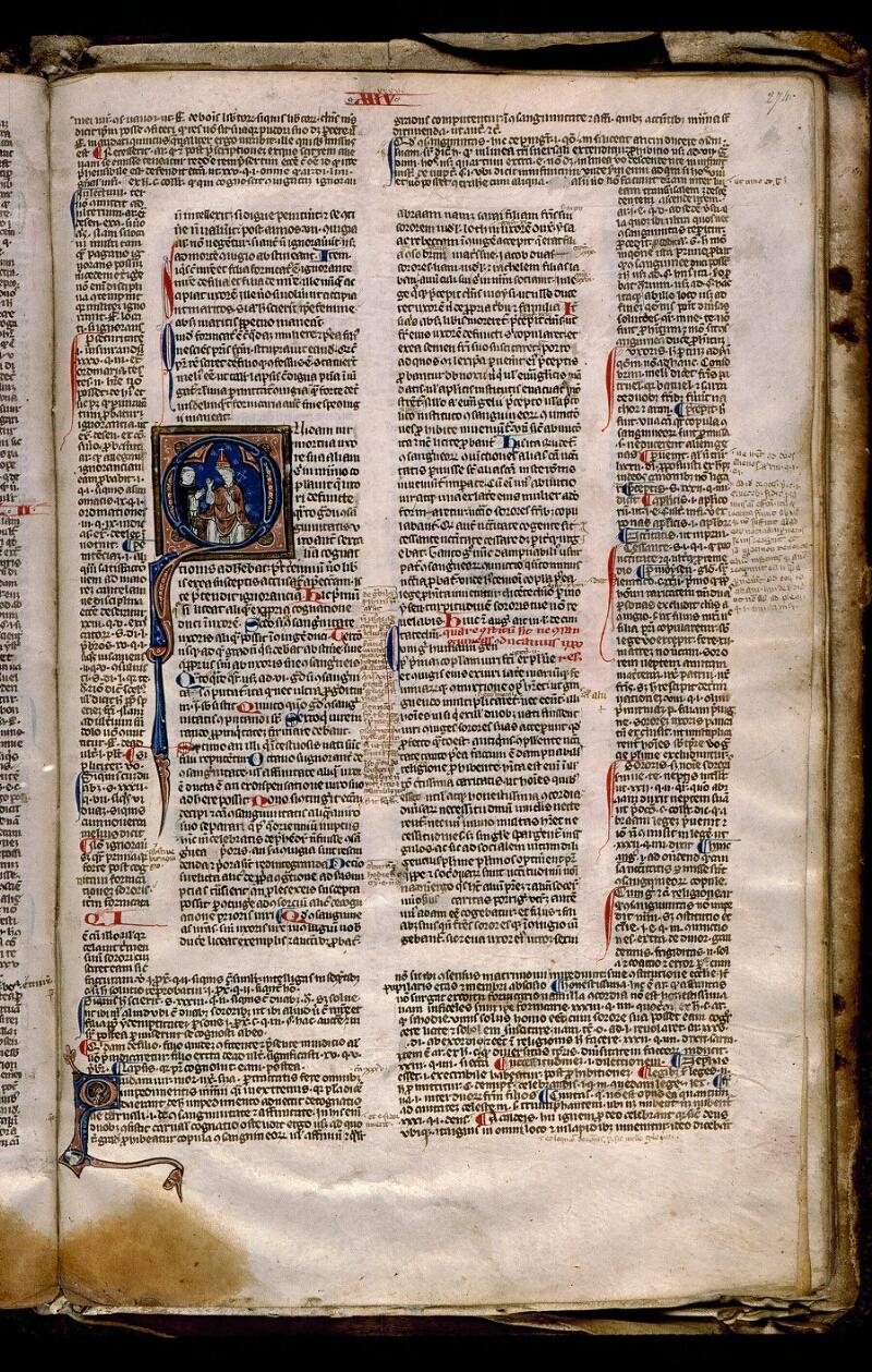 Angers, Bibl. mun., ms. 0371, f. 274 - vue 1