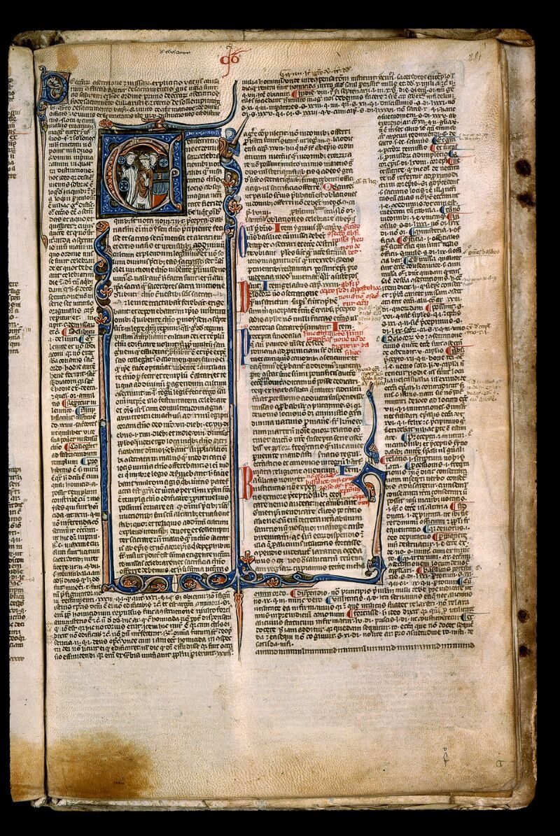 Angers, Bibl. mun., ms. 0371, f. 281 - vue 1