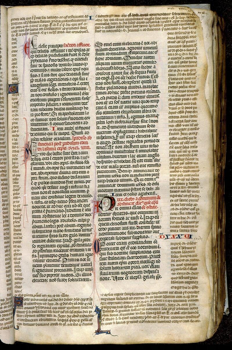 Angers, Bibl. mun., ms. 0372, f. 036 - vue 1