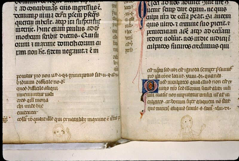Angers, Bibl. mun., ms. 0372, f. 047v-048 - vue 2