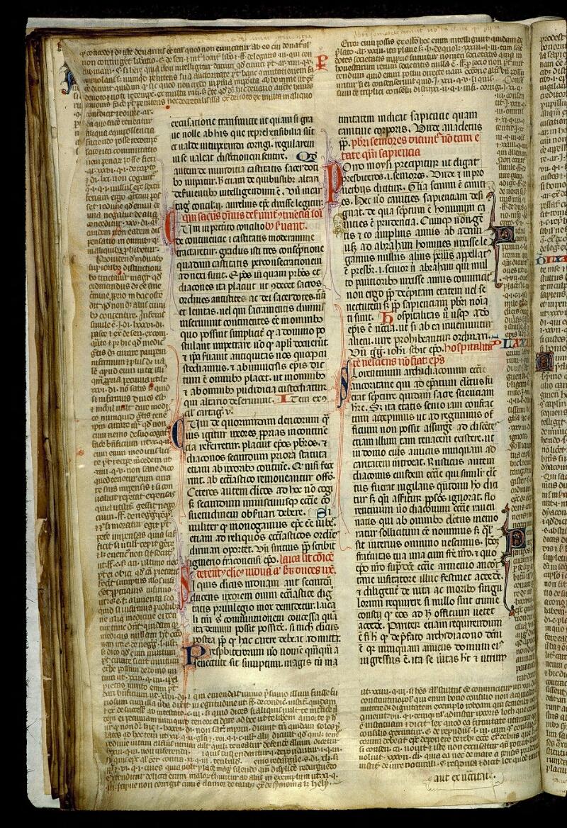 Angers, Bibl. mun., ms. 0372, f. 082v - vue 1