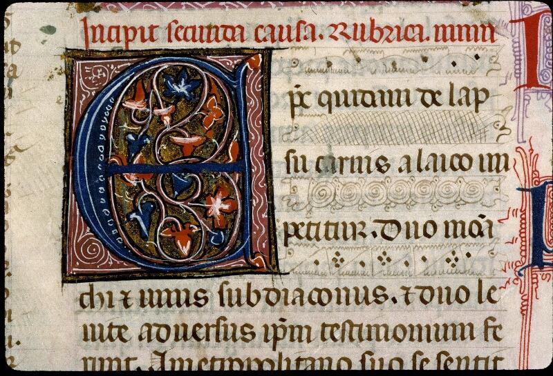 Angers, Bibl. mun., ms. 0372, f. 119v - vue 3