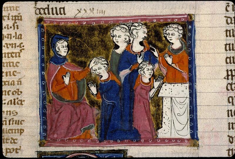 Angers, Bibl. mun., ms. 0372, f. 349v - vue 2