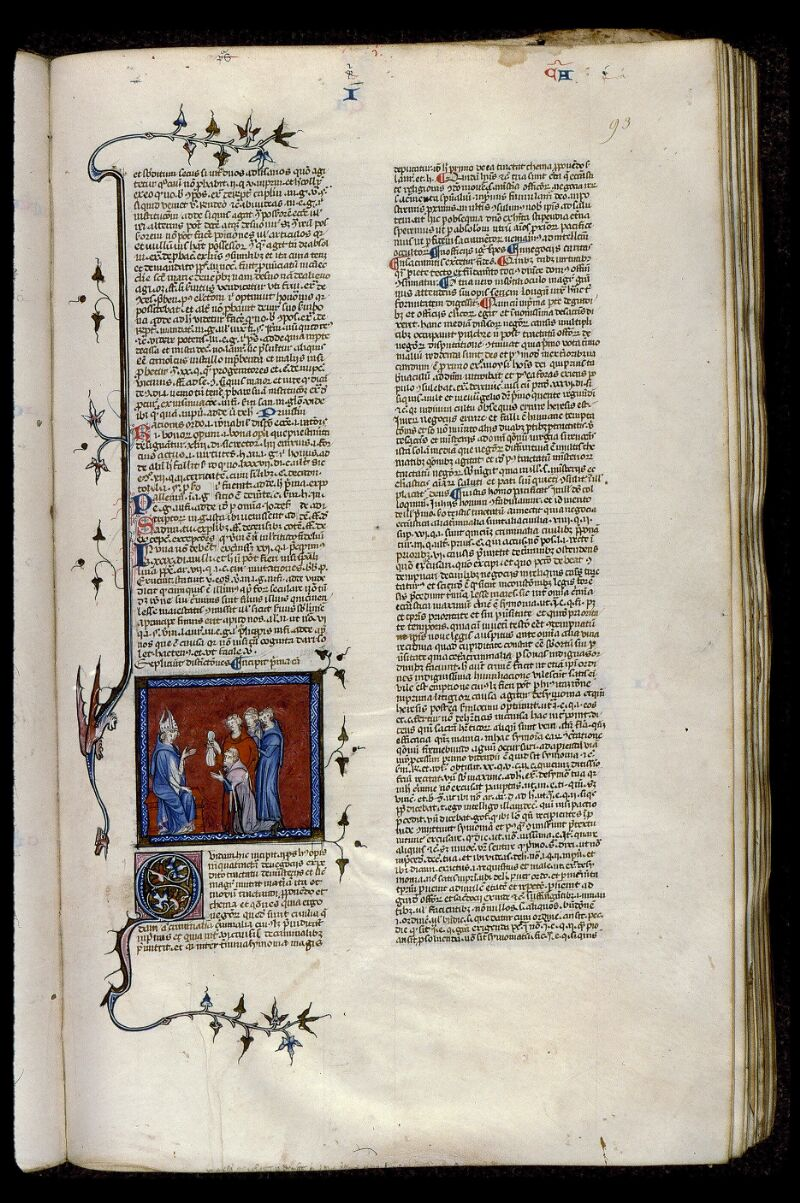 Angers, Bibl. mun., ms. 0373, f. 093 - vue 1