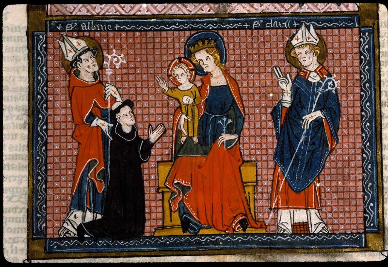 Angers, Bibl. mun., ms. 0376, f. 001 - vue 4