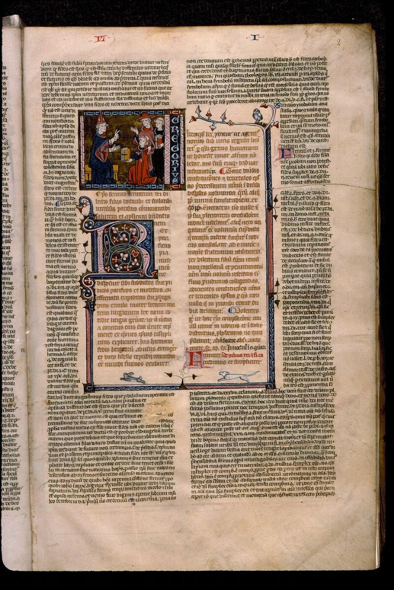 Angers, Bibl. mun., ms. 0376, f. 002 - vue 1