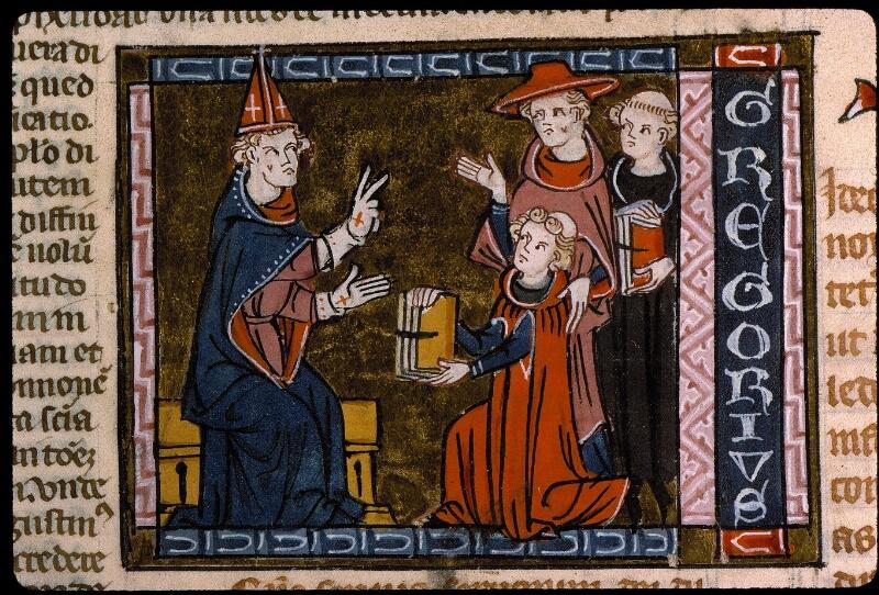 Angers, Bibl. mun., ms. 0376, f. 002 - vue 2