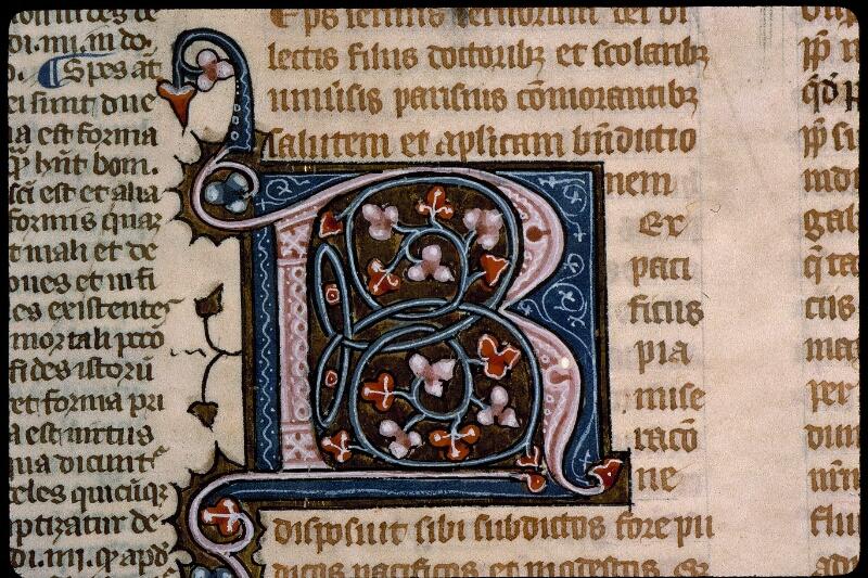 Angers, Bibl. mun., ms. 0376, f. 002 - vue 3