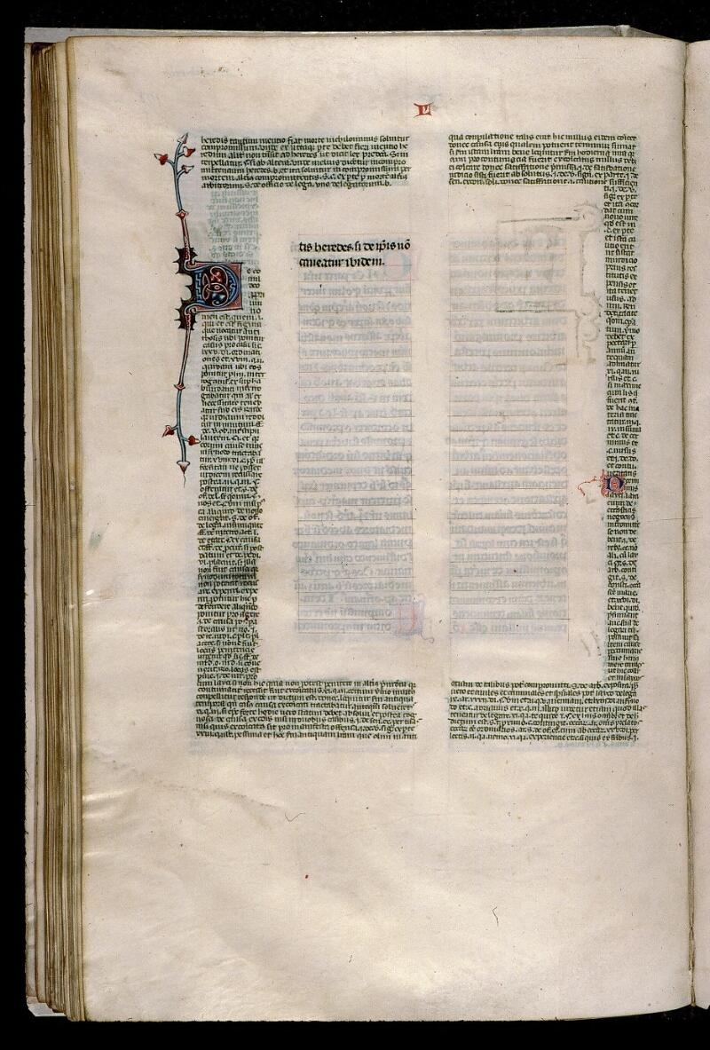 Angers, Bibl. mun., ms. 0376, f. 108v - vue 1
