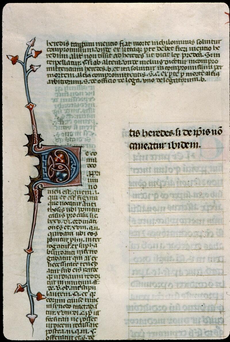 Angers, Bibl. mun., ms. 0376, f. 108v - vue 2