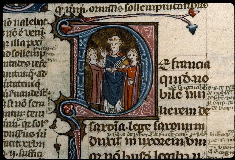 Angers, Bibl. mun., ms. 0376, f. 320 - vue 3