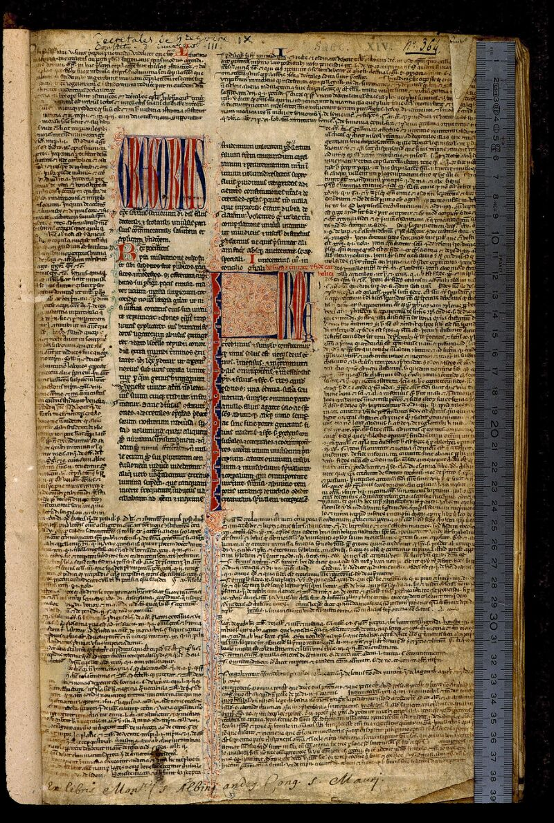 Angers, Bibl. mun., ms. 0377, f. 001 - vue 1
