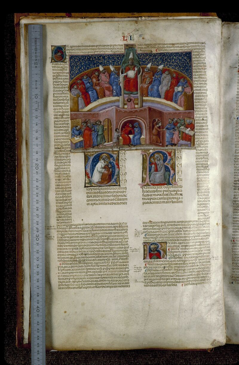 Angers, Bibl. mun., ms. 0378, f. 001v - vue 1