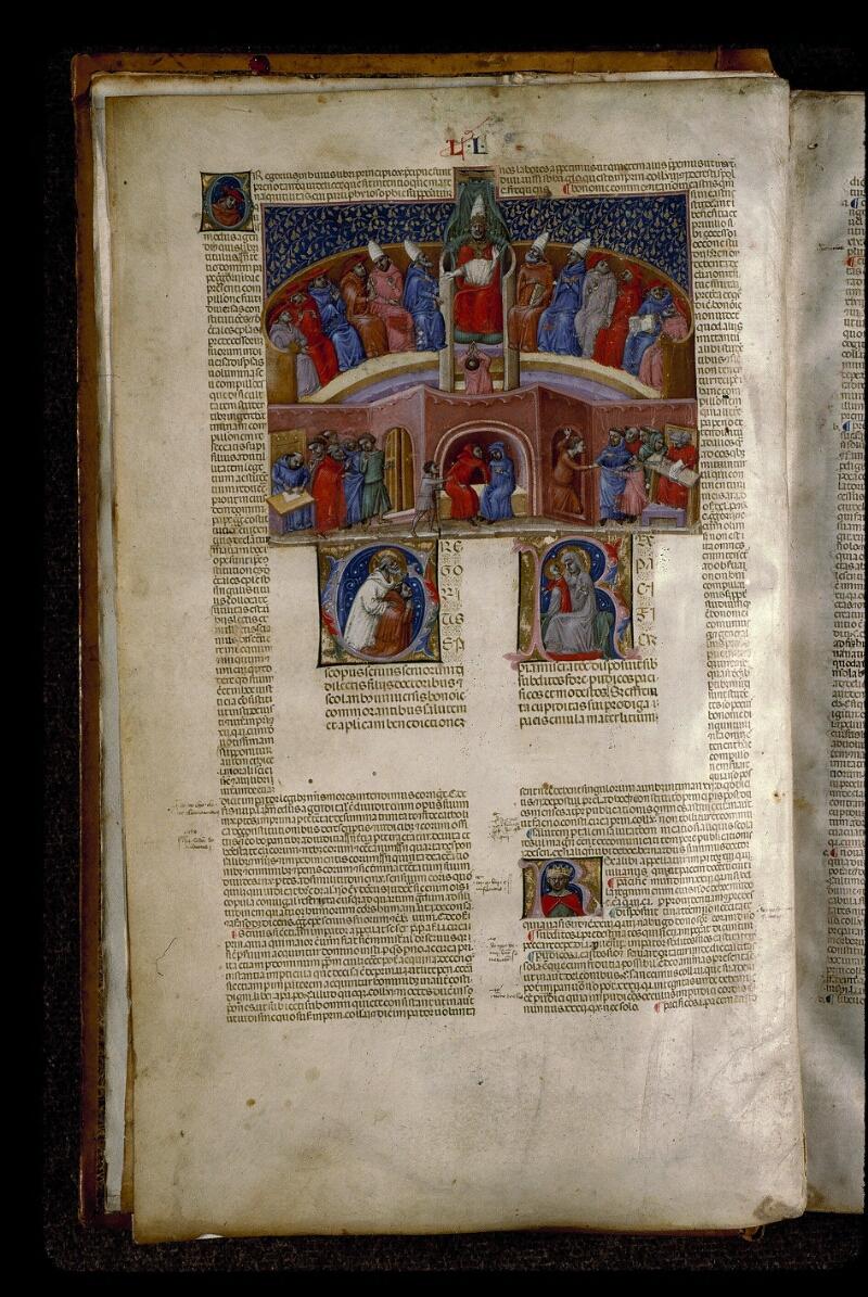Angers, Bibl. mun., ms. 0378, f. 001v - vue 2
