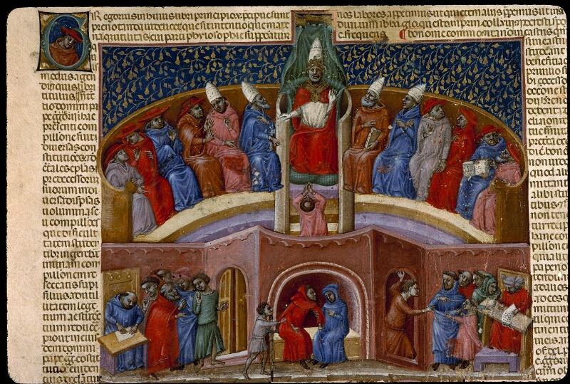Angers, Bibl. mun., ms. 0378, f. 001v - vue 3