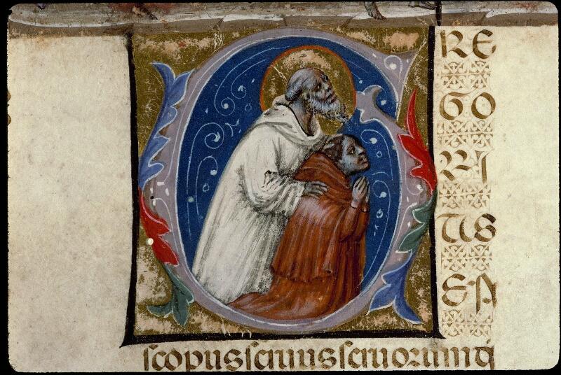 Angers, Bibl. mun., ms. 0378, f. 001v - vue 4
